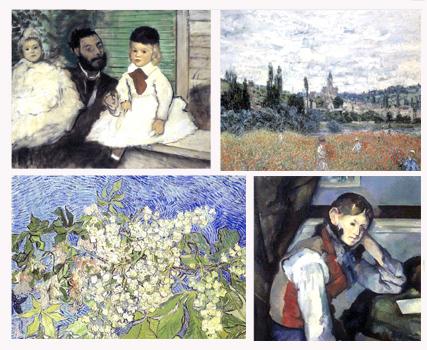 4 stolen paintings