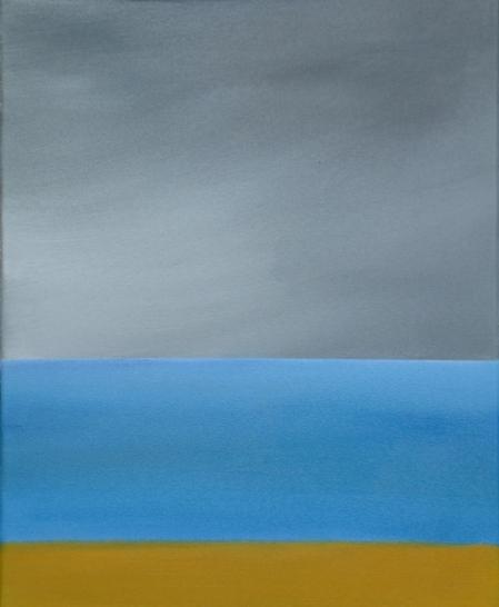Acrylic and oils on canvas, 20\