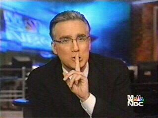 Keith Olbermann (can anybody say, White male with a short haricuts...angry...unhinged?