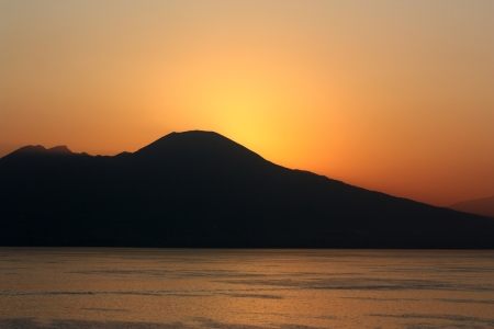 Sunrise at Vesuvius_Etsy