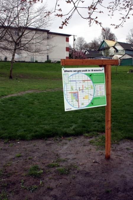 Salsbury Park sign