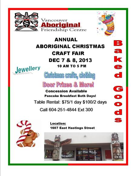 Aboriginal Christmas Craft Fair