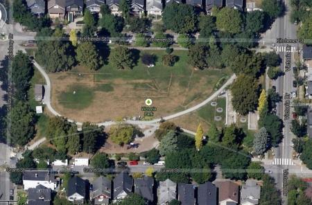 Victoria Park arial