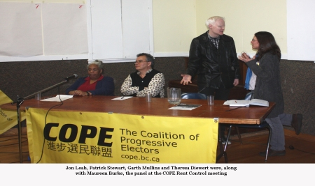 COPE meeting panel