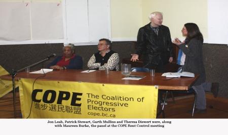COPE meeting panel