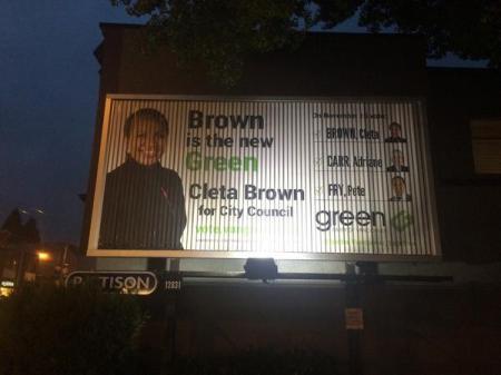 green ad
