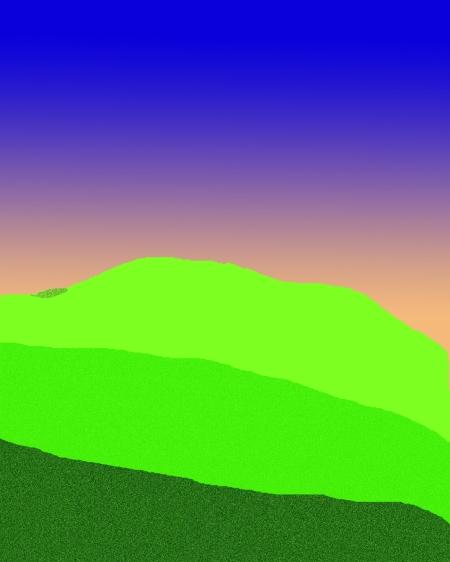Hills at Dawn