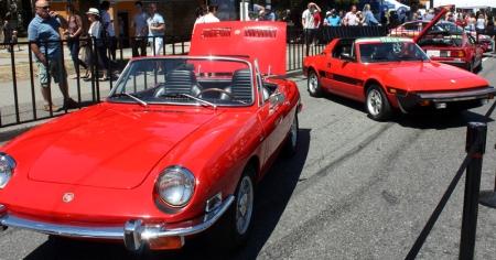 Italian Day 2015 cars