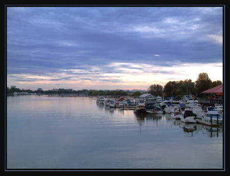 the-river-at-dusk