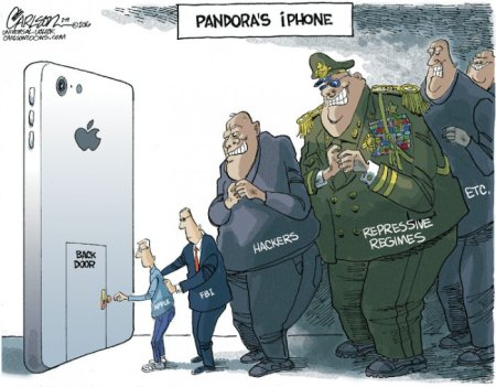 2016 Apple v FBI