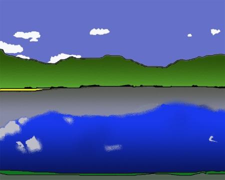 Arrow Lake from the Leland_D-Art copy