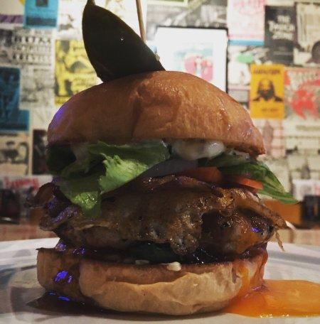 Cannibal burger