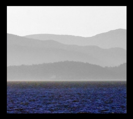 Across English Bay