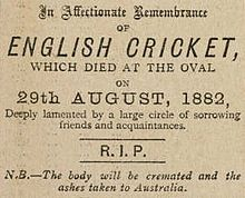DeathofEnglishCricket
