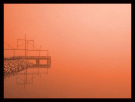 Fog at Sunset_web