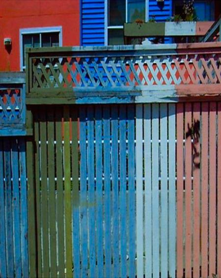 street art II coloured lines