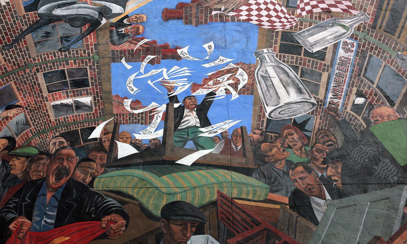 The battle of cable street jak 39 s view of vancouver v 3 for Cable street mural