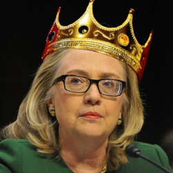 hillary-with-crown