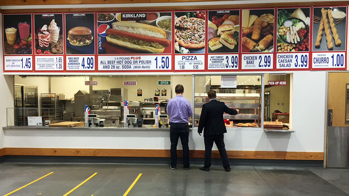 Costco Food Court Menu Items